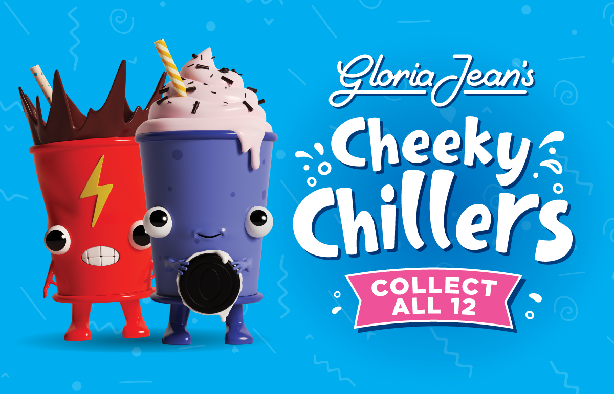 Gloria Jean's Cheeky Chillers