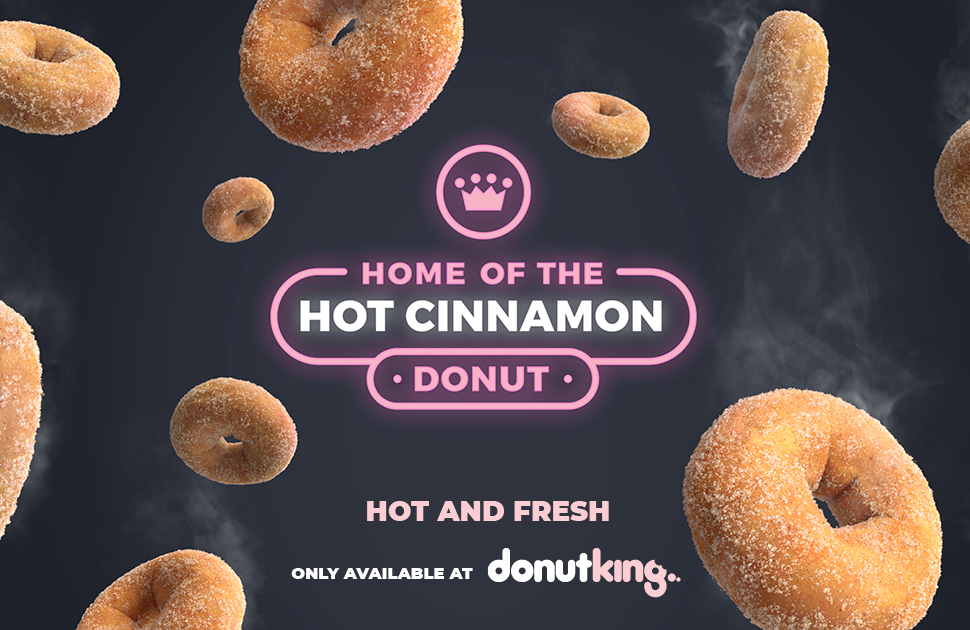 Home of the hot cinnamon donut