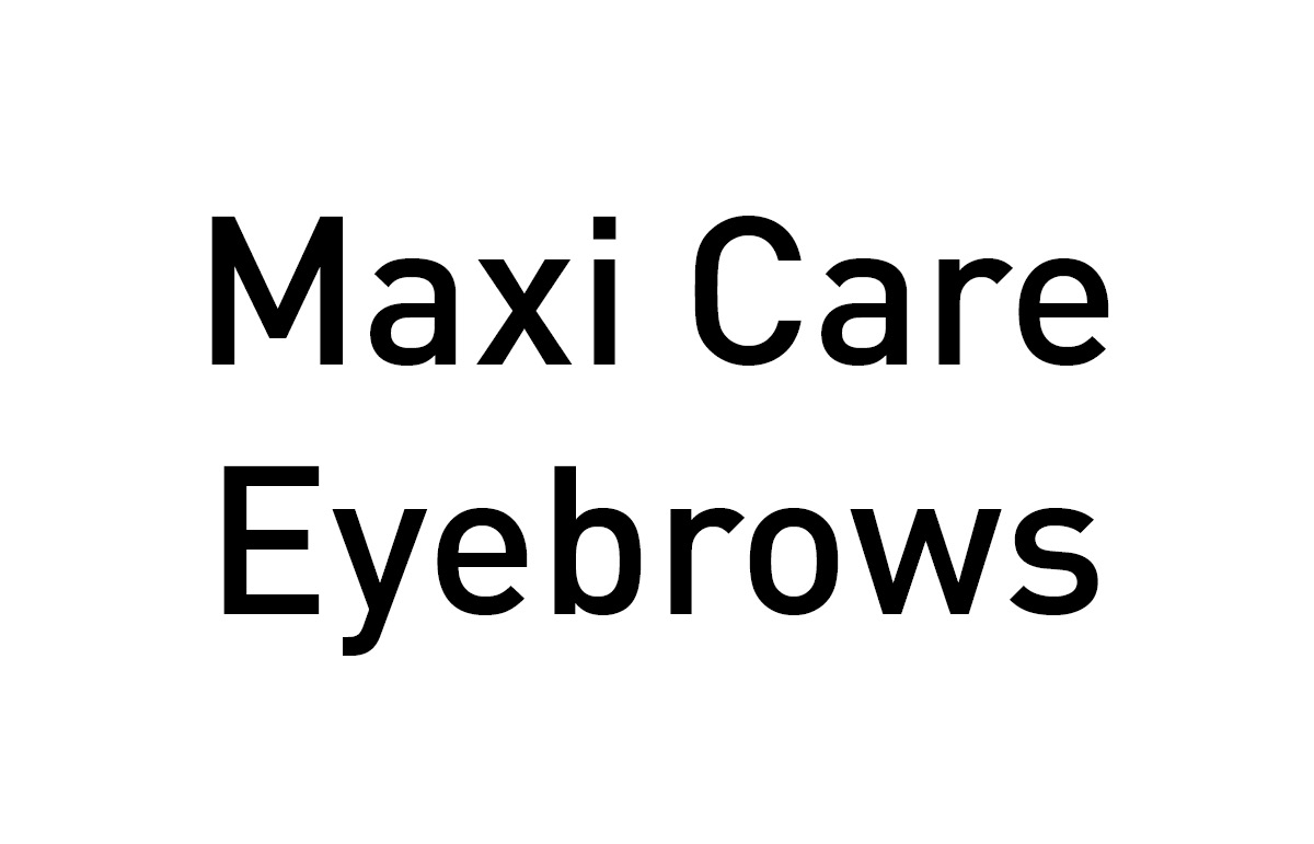 Maxi Care Eyebrows