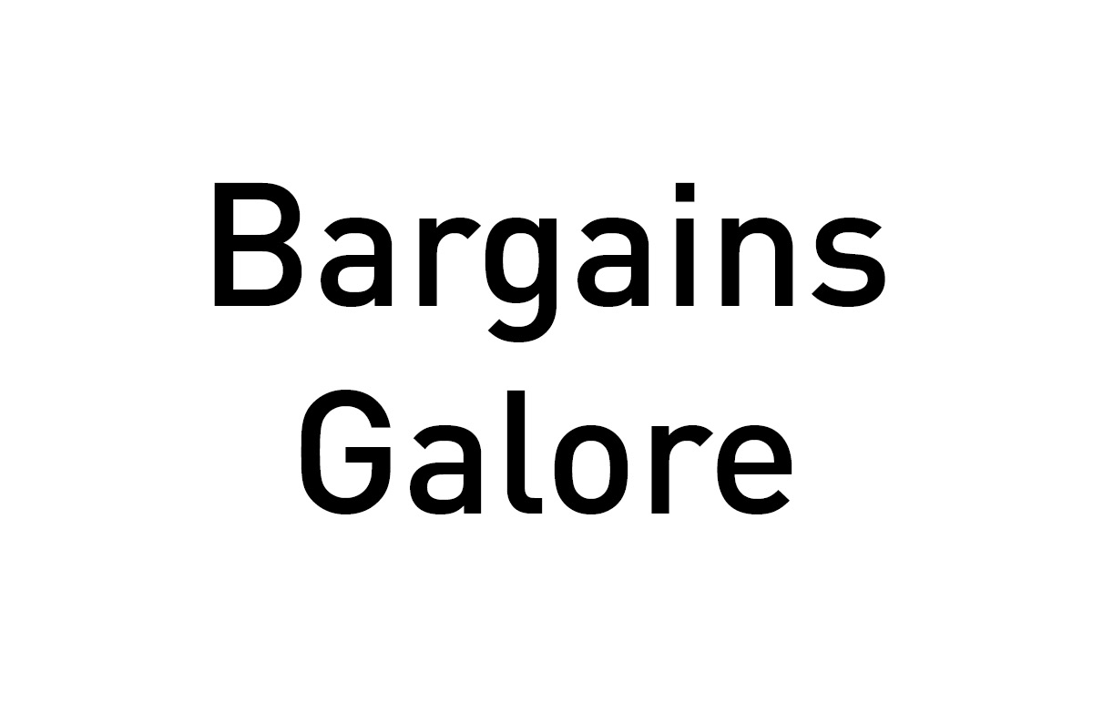 Bargains Galore