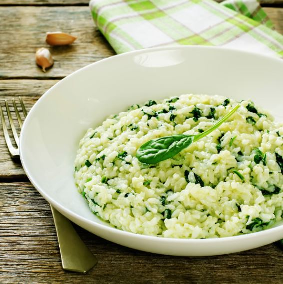 Spinach and Fetta Risotto