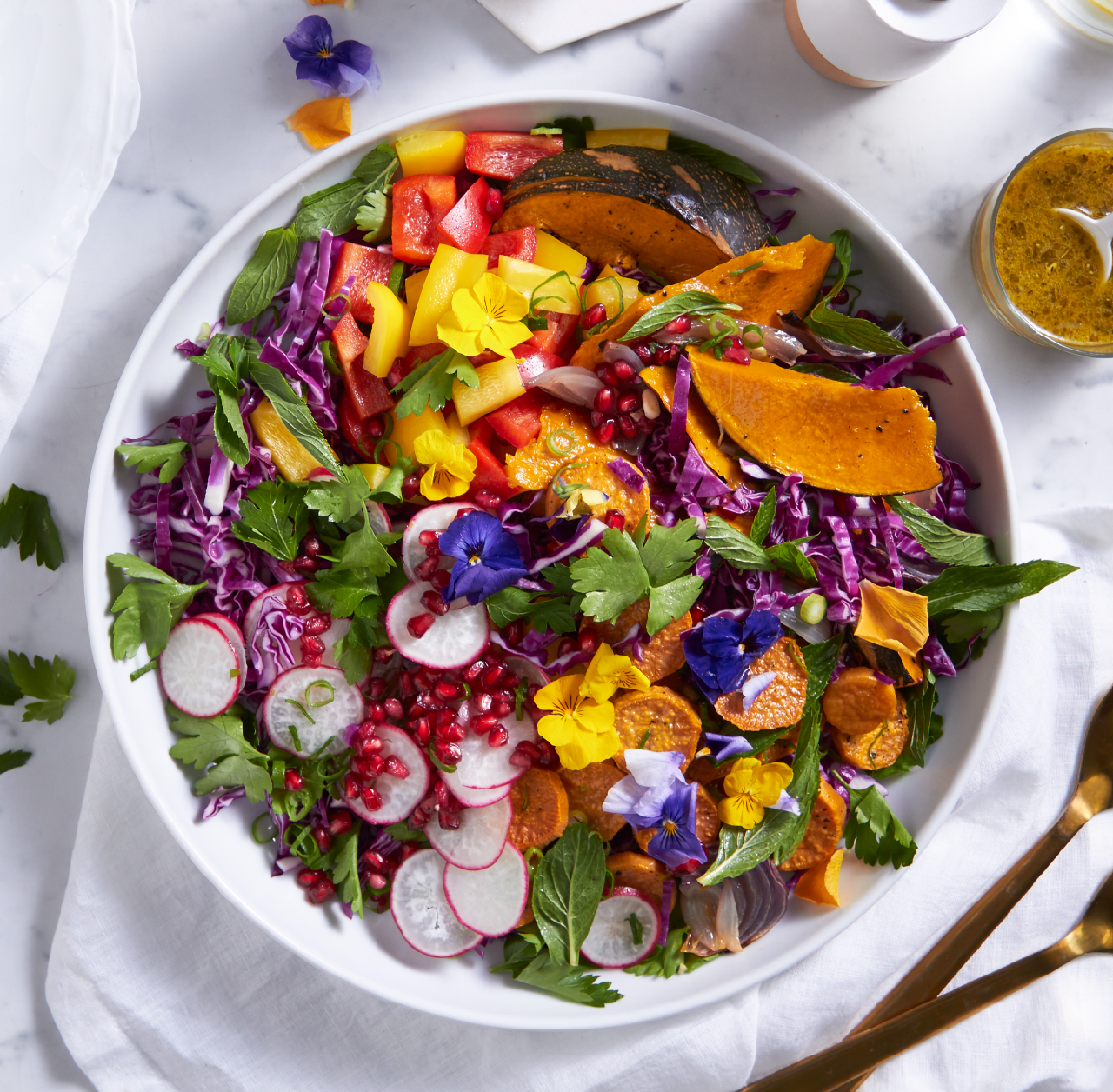 Easter recipe: Roast vegetable celebration salad