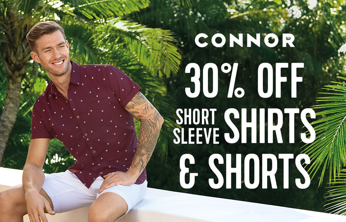 30pc off Shirts - Shorts Connor