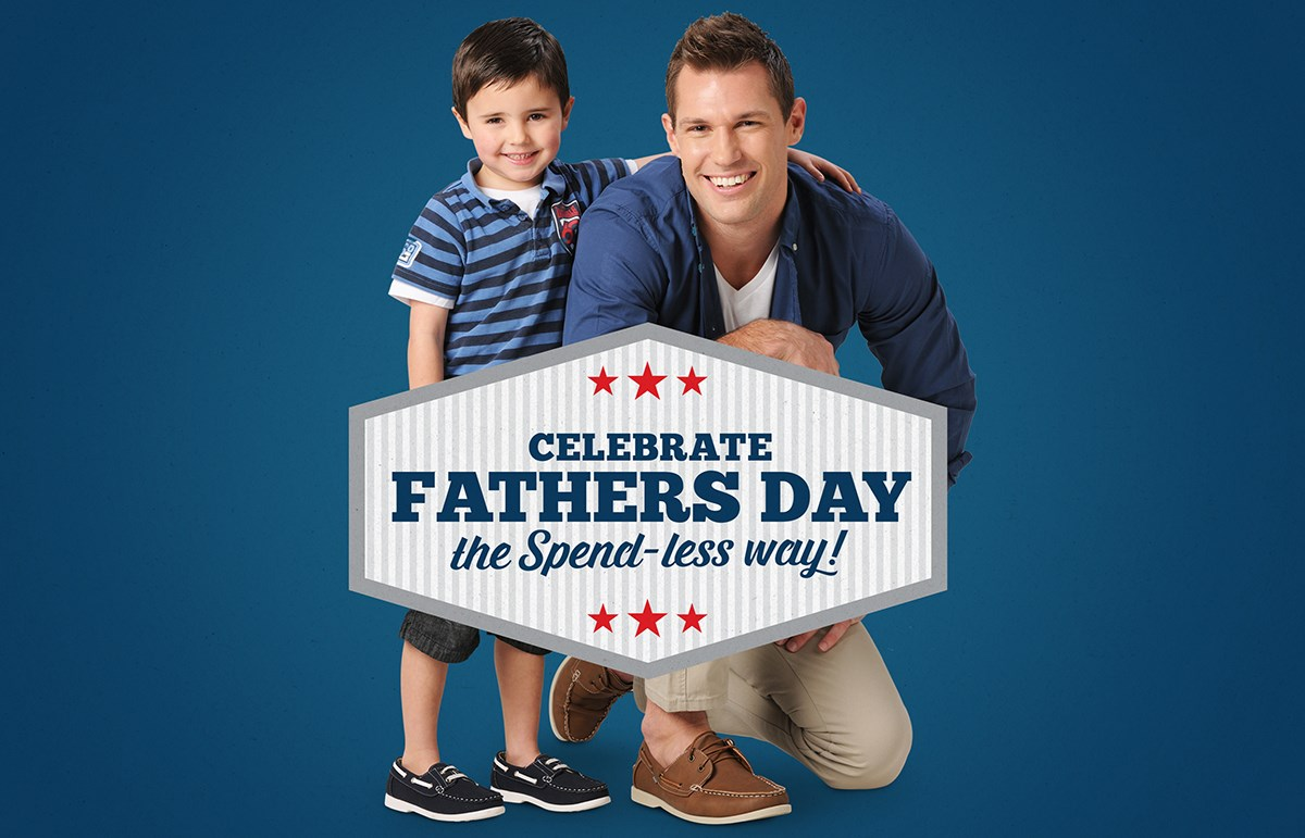 Spend-less Shoes father's Day sale 2016